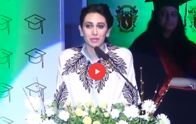 Karisma Kapoor Speech on Graduation Day 2016 - SIS