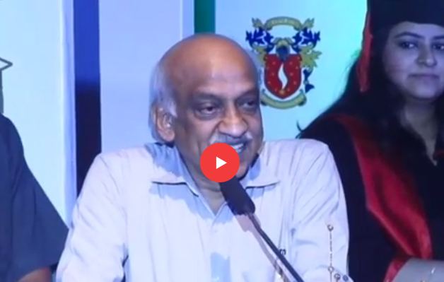 Dr A S Kiran Kumar Speech on Graduation Day 2016 - SIS